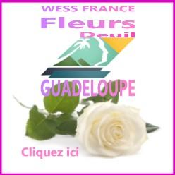 livraison de fleurs deuil à la Guadeloupe