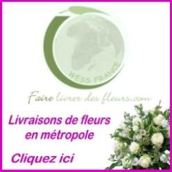 livraison fleurs en france métropolitaine
